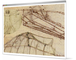 Cracking da Vinci's other code